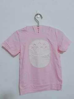 🚚 粉色龍貓連帽T