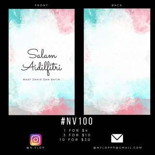 Sampul Raya - #NV100
