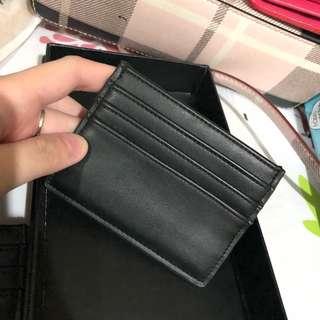forever 21 card holder hitam black