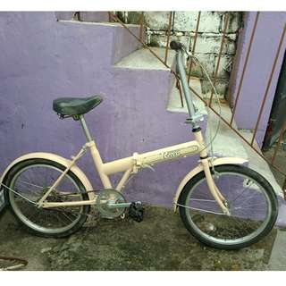 ROXY FOLDING BIKE (FREE DELIVERY AND NEGOTIABLE!)