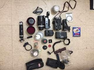 🚚 古董相機 全部配備都有 可正常使用