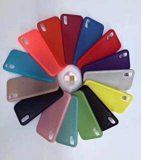 iPhone 蘋果系列鏤空硅膠手機殼
