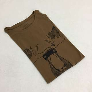 Cotton On Brown Vintage Casual T Shirt