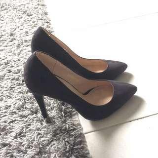 Zalora black heels free pos