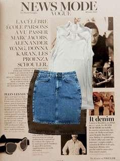 Mark's and Spencer Denim Skirt