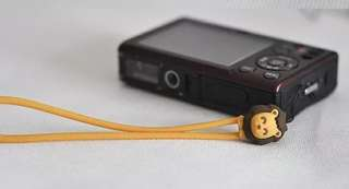 Soft Silicone Hand Wrist Phone Strap Lanyard - Leo