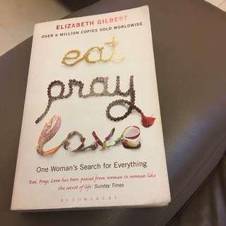 Eat pray love book elizabeth gilbert
