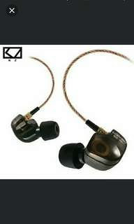 🚚 🆕🆙🎼[Instock] KZ ATES ™ HD9 Copper Driver HiFi Sport Headphones In Ear Earphone For Running With Microphone Limited Promotion SALE ▶$26.90  #CarouPay