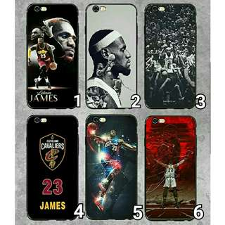 (Soft) NBA LEBORN JAMES Full Cover iPhone Casing