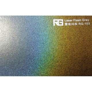 🚚 RG 專業車膜改色保護 雷電閃灰100cm*152cm
