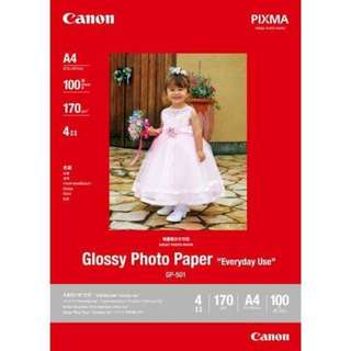【READY STOCK】Canon Glossy Photo Paper 4R (30sheets/pack) RM15