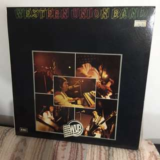 WESTERN UNION BAND-Vinyl Record