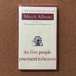 The Five People You Meet in Heaven (Novel by Mitch Albom)