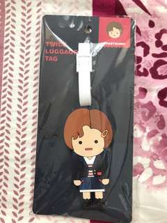 Twice Chae young 彩瑛 行李牌 Luggage Tag