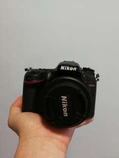 Nikon d7200 with 35mm 1.8 lens