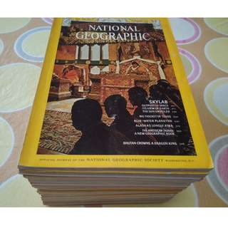 [Sold] 1964-2008 NatGeo National Geographic Magazines