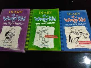 Diary of a Wimpy Kid x3