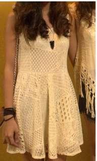 Boho/Crochet dress
