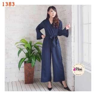 Jumpsuit kimono / playsuit korea murah / jumpsuit menyusui / busui oke / jumpsuit lebaran / 1383