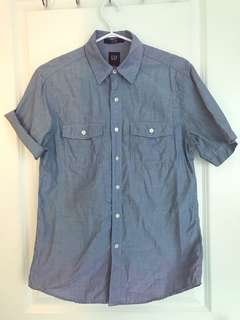GAP Fitted Button Up