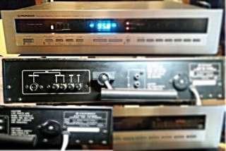 RARE BEAUTIFUL TOP VINTAGE Pioneer TX-D1000 tuner