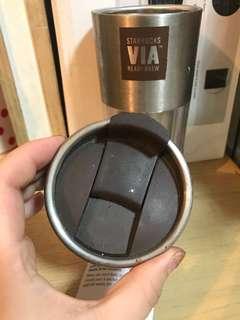 Starbucks VIA  READY BREW 咖啡杯 花茶杯
