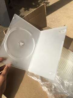 100 pack translucent 7mm DVD cases for sale