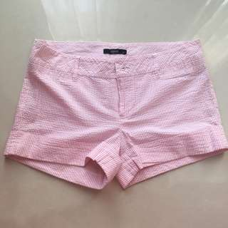 Pink Stripes Shorts