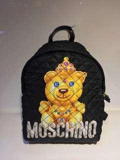 限時特價 moschino backpack