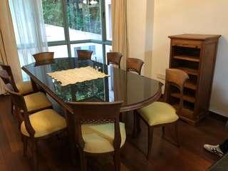Teakwood dining set