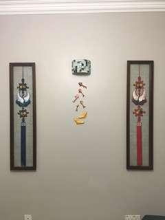 Phoenixes artwork with frame