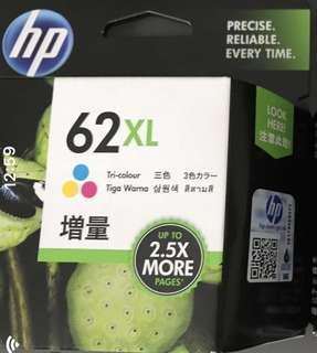 HP Printer 62XL Tri Colour Cartridge