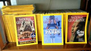 National Geographic (130 pcs, assorted)