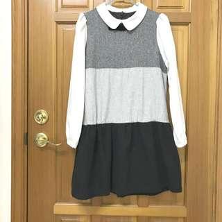 🚚 日本日系蘿莉塔lolita學院風 長袖洋裝