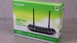 TP Link AC750 Wireless Router Dual Band