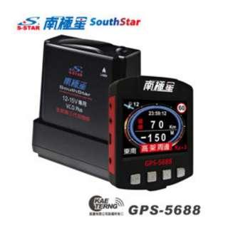 南極星 GPS-5688衛星超級測速器