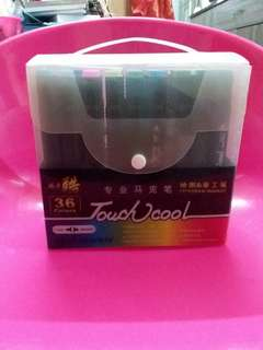 Touch Cool Art Marker Twin Head 36 Colors