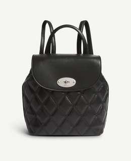 Mulberry 靚仔黑色backpack