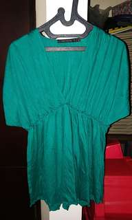 Limited green blouse