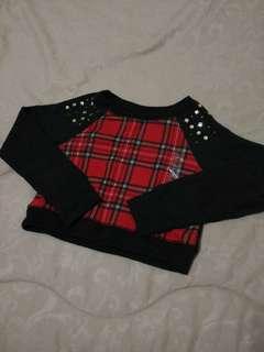 Plaid Sweater Justice