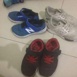 New Balance, Nike, Adidas Original
