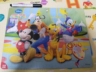 [free 免費] Mickey mouse puzzle 砌圖拼圖, 2+合適