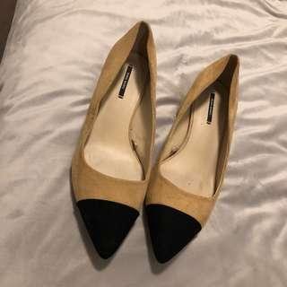 Zara chanel type Heels