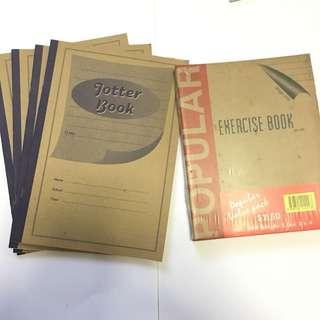 A4 JOTTER BOOK/EXERCISE BOOK