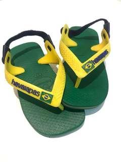 Havaianas Baby Brazil Logo Sandals