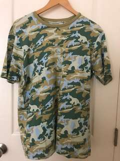 Andy Warhol x Uniqlo Camo Shirt
