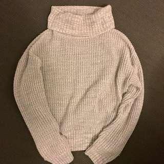 Knitted oversized jumper
