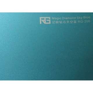 🚚 RG 專業車膜改色保護 幻彩鑽石天空藍100cm*152cm