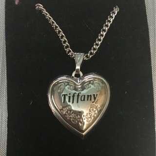 """""""Tiffany"""" Heart Locket Necklace"""