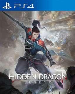 PS4 Hidden Dragon Legend